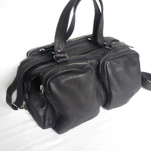 BOSTON BAG  BLK   SALE